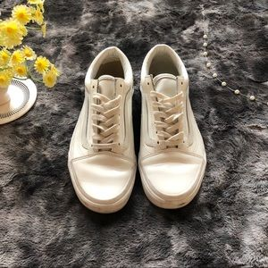 VANS Old Skool Studs Sidewall White Sneakers